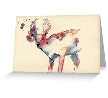 Lively Deer Greeting Card