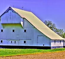 White barn by David Owens