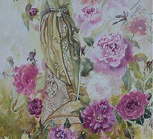 China Rose - Male by scallyart