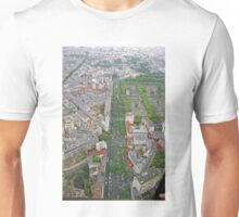 Paris From Above - Tour Montparnasse- Boulevard Edgar Quinet Unisex T-Shirt