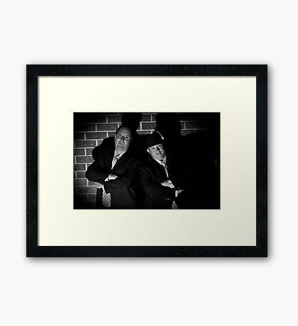 Film Noir 3 Framed Print