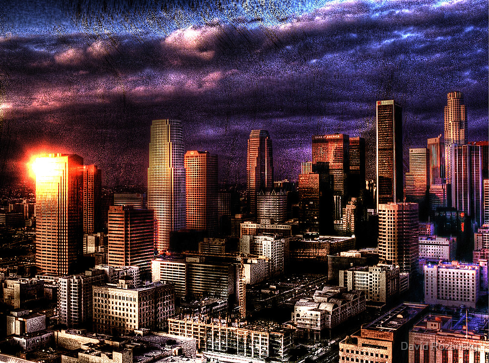 The City of Angels by David Rozansky