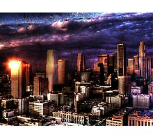 The City of Angels Photographic Print