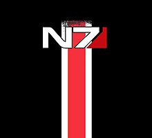 Mass Effect N7 by DWorkshop