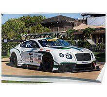 Bentley Continental GT3 Poster