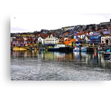 Scarborough Harbour #2 Canvas Print