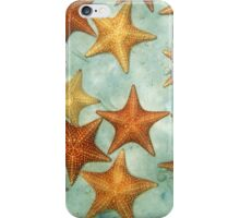 Sandy seabed with starfish underwater iPhone Case/Skin