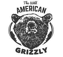The Wild American Grizzly by KingdomofArt