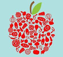 Apple Food by KingdomofArt