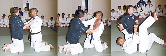 Judo Lesson by DavidFrench