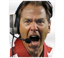 Nick Saban The Hulk Poster
