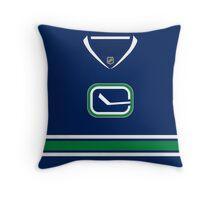 Vancouver Canucks Alternate Jersey Throw Pillow