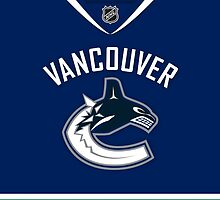 Vancouver Canucks Home Jersey by Russ Jericho