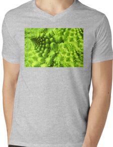Romanesco broccoli  Mens V-Neck T-Shirt