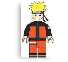 NARUTO LEGO  Canvas Print