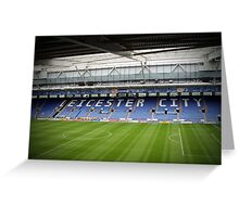The Home Of Leicester City FC Greeting Card
