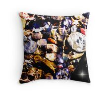Space Candy Throw Pillow