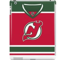 New Jersey Devils Retro Jersey iPad Case/Skin
