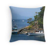 Vancouver Island Throw Pillow