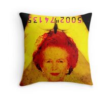 sliced thatch Throw Pillow