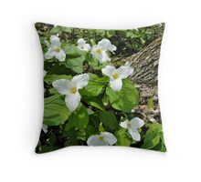 Our Official Flower Throw Pillow