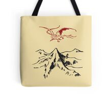 [The Hobbit] - Lonely Mountain (Light) Tote Bag