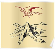 [The Hobbit] - Lonely Mountain (Light) Poster