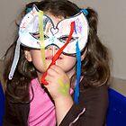 Masked face by davridan