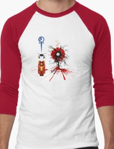 Quantum Flower Men's Baseball ¾ T-Shirt