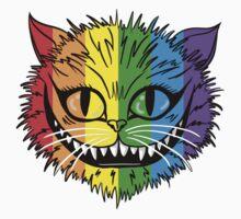 Rainbow Cheshire Cat Kids Clothes