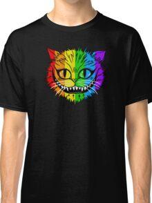 Rainbow Cheshire Cat Classic T-Shirt