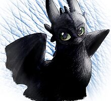 Toothless-Dark by Turoksar