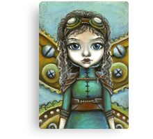 Steampunk fairy by Tanya Bond Canvas Print