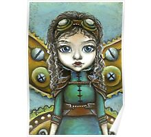 Steampunk fairy by Tanya Bond Poster