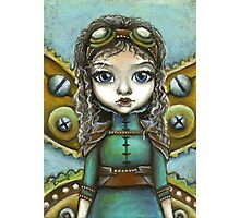 Steampunk fairy by Tanya Bond Photographic Print