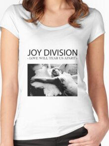 Joy D Women's Fitted Scoop T-Shirt