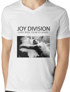 Joy D Mens V-Neck T-Shirt