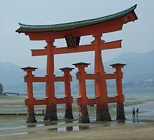 Miyajima Torii Gate by ciaramc31