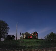House On The Hill by Peter Gnas