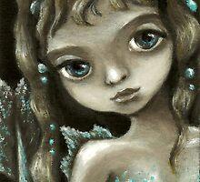 Little mermaid - fantasy painting by Tanya Bond by tanyabond