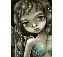 Little mermaid - fantasy painting by Tanya Bond Photographic Print