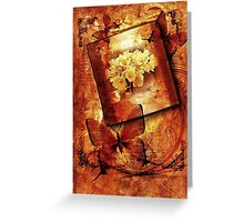Hydrangea & Butterflies Greeting Card