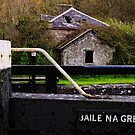 the lock keeper&#x27;s cottage, Baile na Greine lock, the Barrow Navigation, County Carlow, Ireland. by Andrew Jones