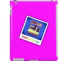 Selfie in the 80s iPad Case/Skin