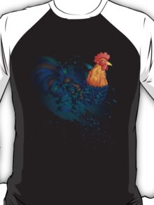 Grunge Rooster T-Shirt