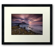 Filey Brigg Framed Print