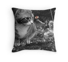 'One little flower' Throw Pillow