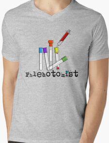 Phlebotomist Vacutainer Art Mens V-Neck T-Shirt