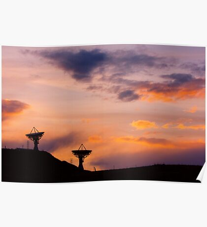 Colorful Sky Communications Poster
