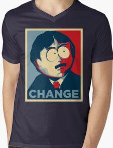South Park Change  Mens V-Neck T-Shirt